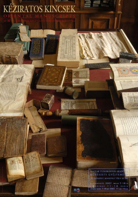 A Magyar Tudományos Akadémia Könyvtára tisztelettel meghívja a. Kéziratos  kincsek a Keleti Gyűjteményben 1f113115f7